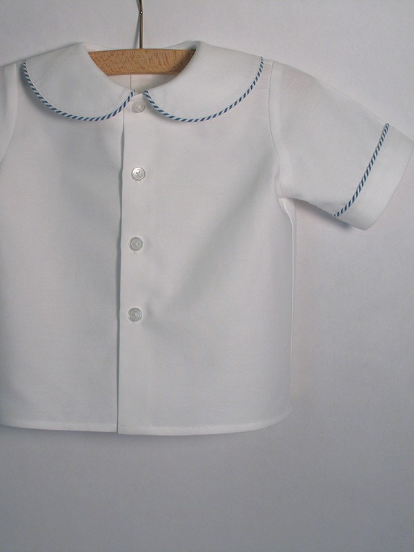 6b89ef1c Peter Pan Collar Baby Shirt - Patricia Smith Designs