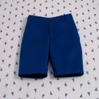 Royal Blue Slim Fit Shorts
