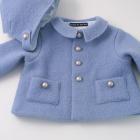 Blue Austrian Boiled Wool Jacket and Helmet