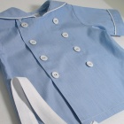 Double Button Sailor Shirt