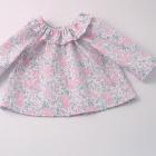Liberty Felicite Ruffle Collar Baby Blouse