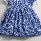 Liberty Cobalt Blue Betsy Baby Dress