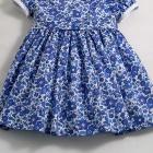 Liberty Cobalt Blue Betsy Baby Dress