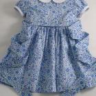 Liberty Blue D'Anjo Baby Dress