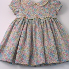 Liberty Yellow Emma and Georgina Baby Dress
