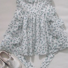 Liberty Floating Flora Baby Dress