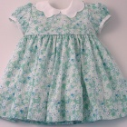 Liberty Mint Green Mitsi Baby Dress
