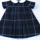 Patriot Wool Tartan Baby Dress