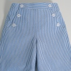 Blue Striped Sailor Shorts