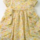 Liberty Yellow Betsy Baby Dress