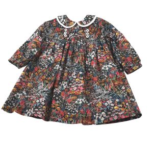 Liberty faria flowers girls dress