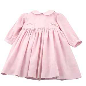 pink girls dress with pockets